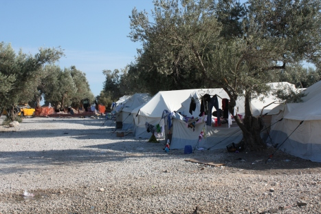 Kara Tepe refugee camp for Syrians