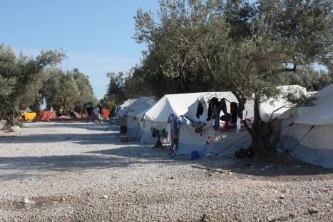Kara Tepe refugee camp for Syrians